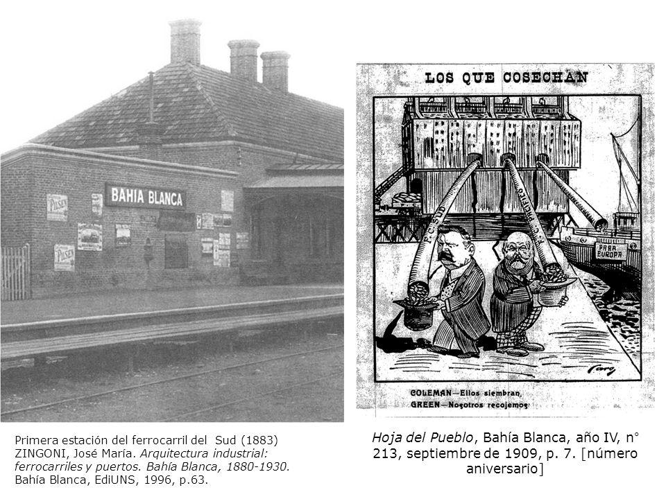 Hoja del Pueblo, Bahía Blanca, año IV, n° 213, septiembre de 1909, p. 7. [número aniversario]